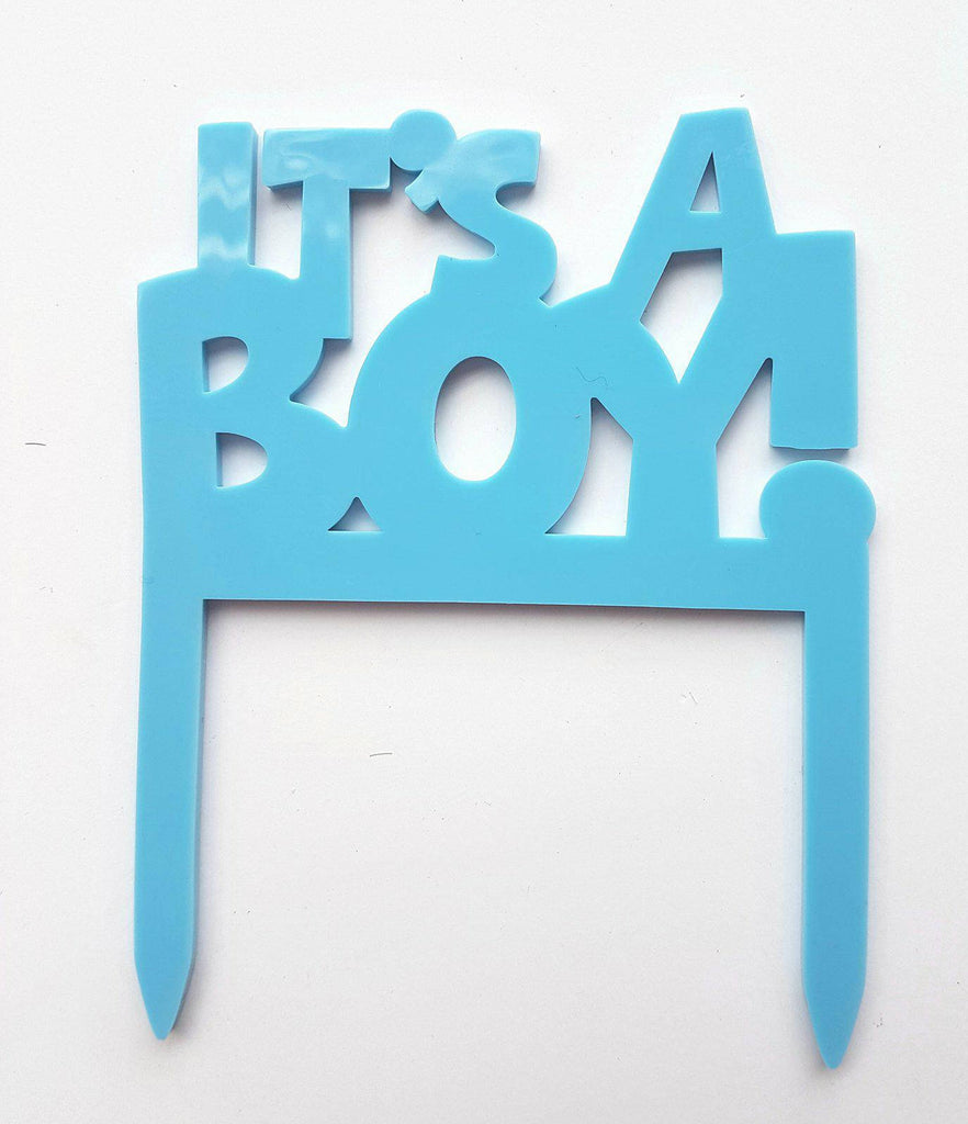 """It's a boy"" Cake Topper"