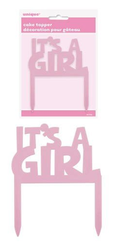 """It's a Girl"" Cake Topper"