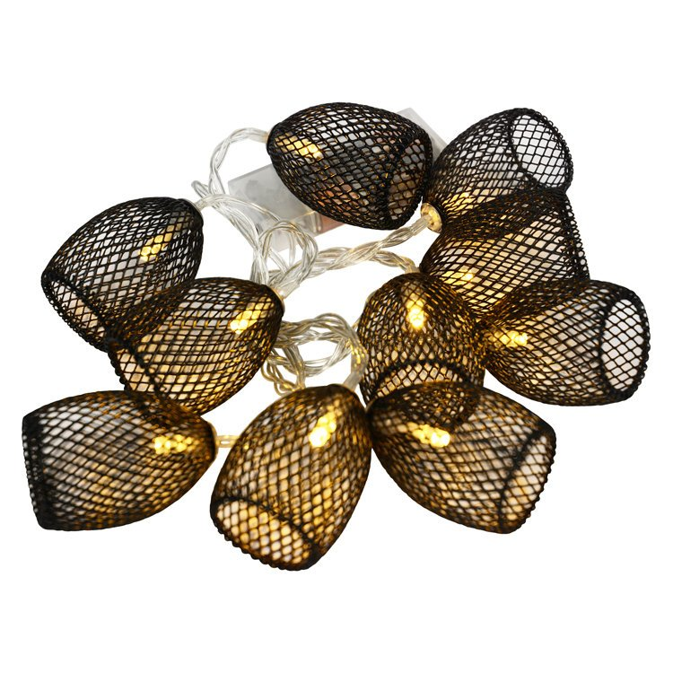 Black Mesh Cage Fairy Lights