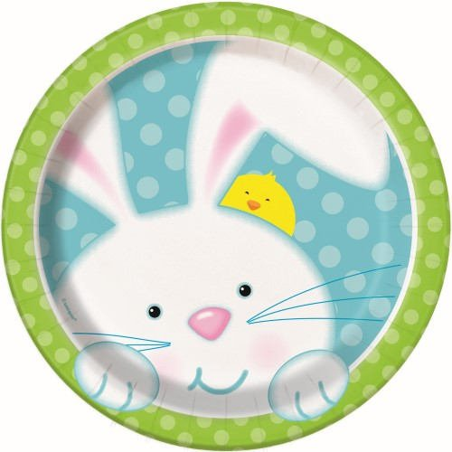 Bunny Paper Plates