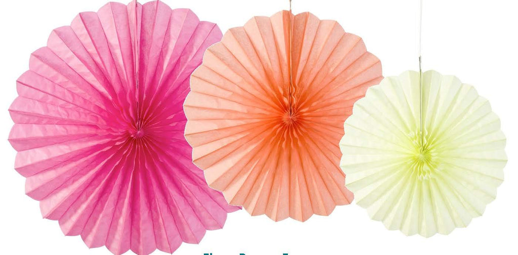 Talking Tables Flower Fans