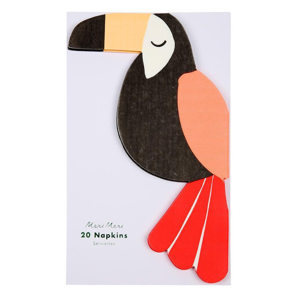 Meri Meri Tropical Toucan napkins
