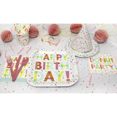 Bright Happy Birthday Plates