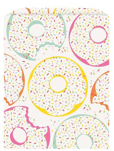 Donut Paper Treat Bags