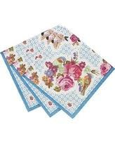 Talking Tables Blue Floral napkins