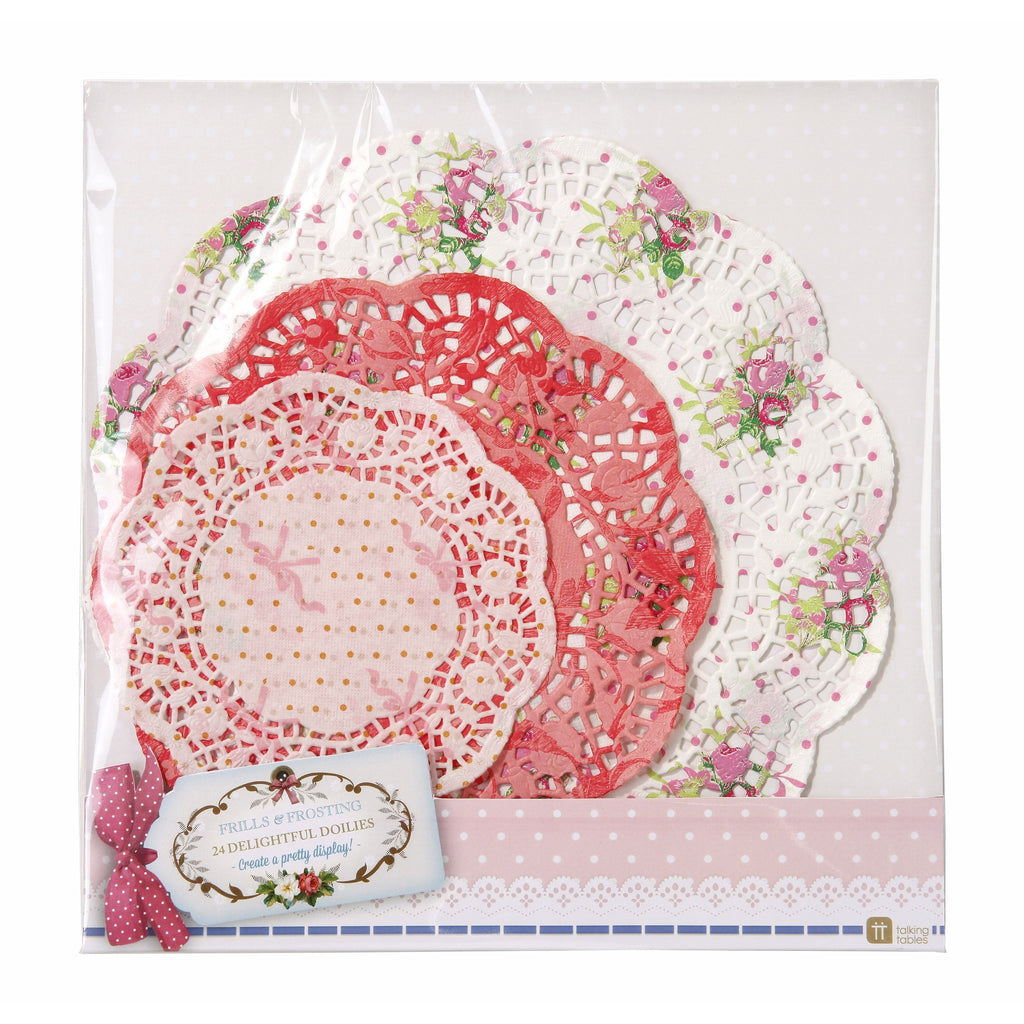 Frills and Frosting Paper Doilies