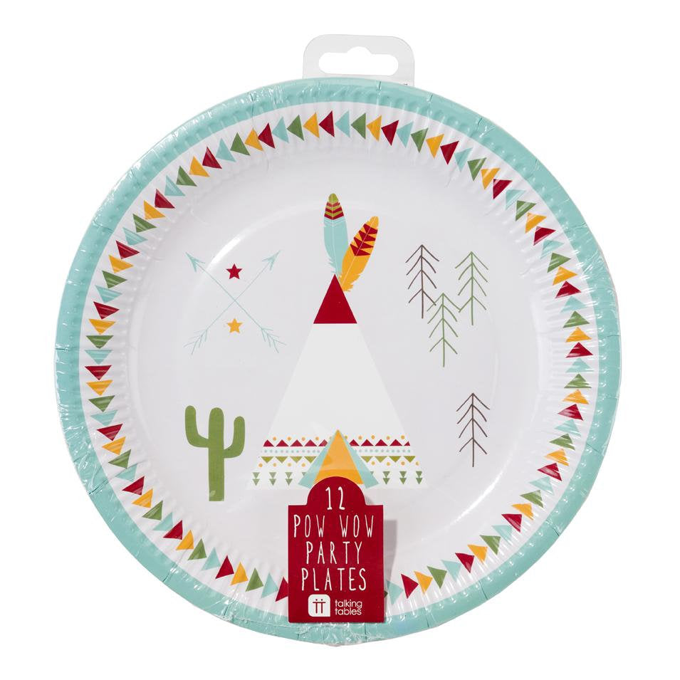 Talking Tables Wild West Pow Wow Paper Plates