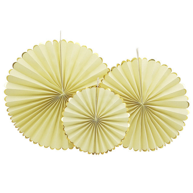 Yellow Paper Fan