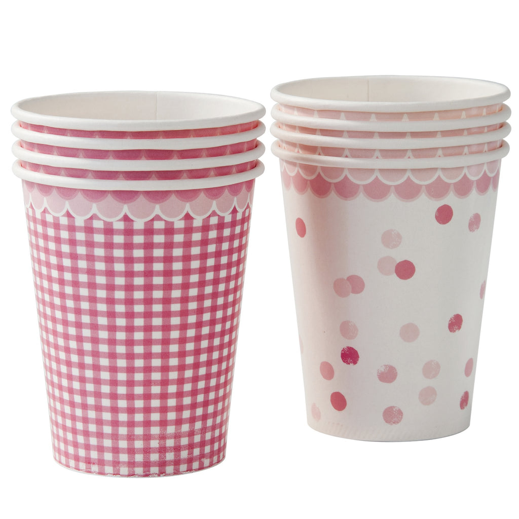 Talking Tables Pastel Pink cups