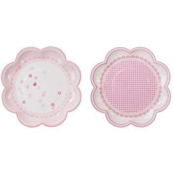 Talking Tables Pastel Pink plates