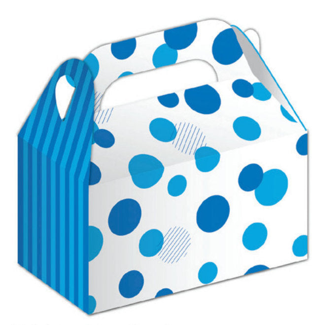 Blue spot treat boxes