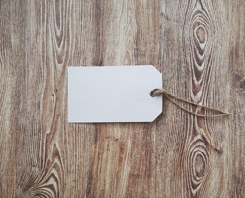 White Paper Gift Tags