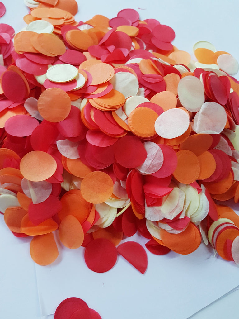 Sunrise confetti mix