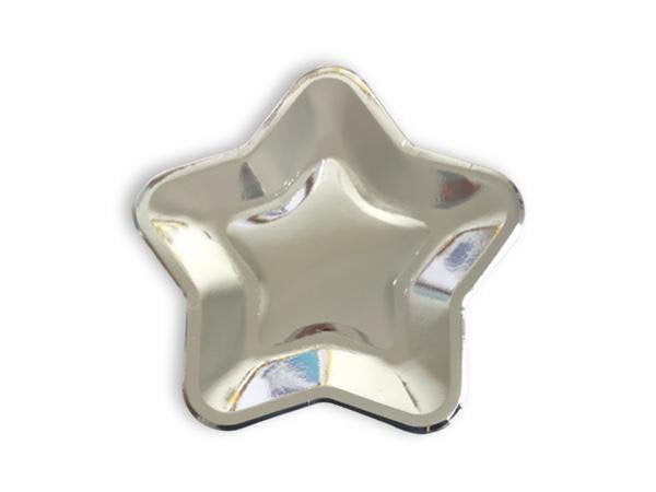 Metallic Star Plates in 6 colours