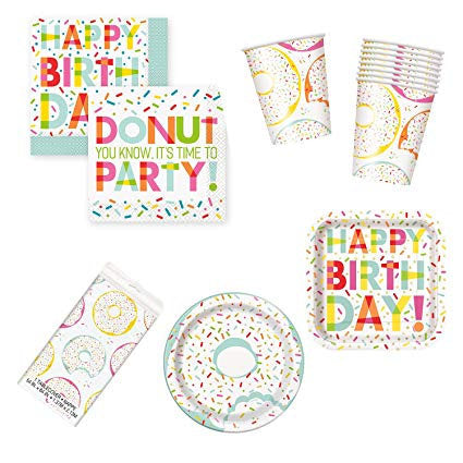 Donut Party Tablecloth