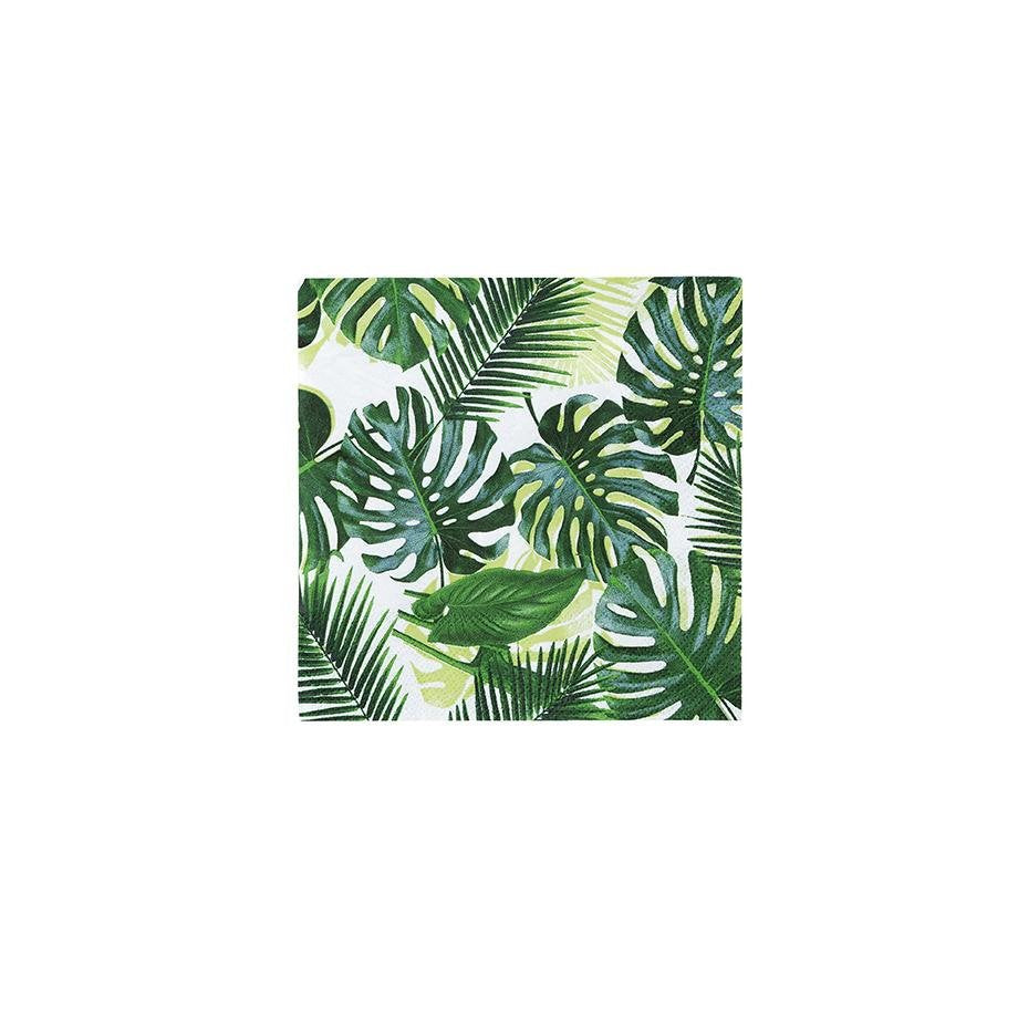 Jungle Monstera Leaf Napkins