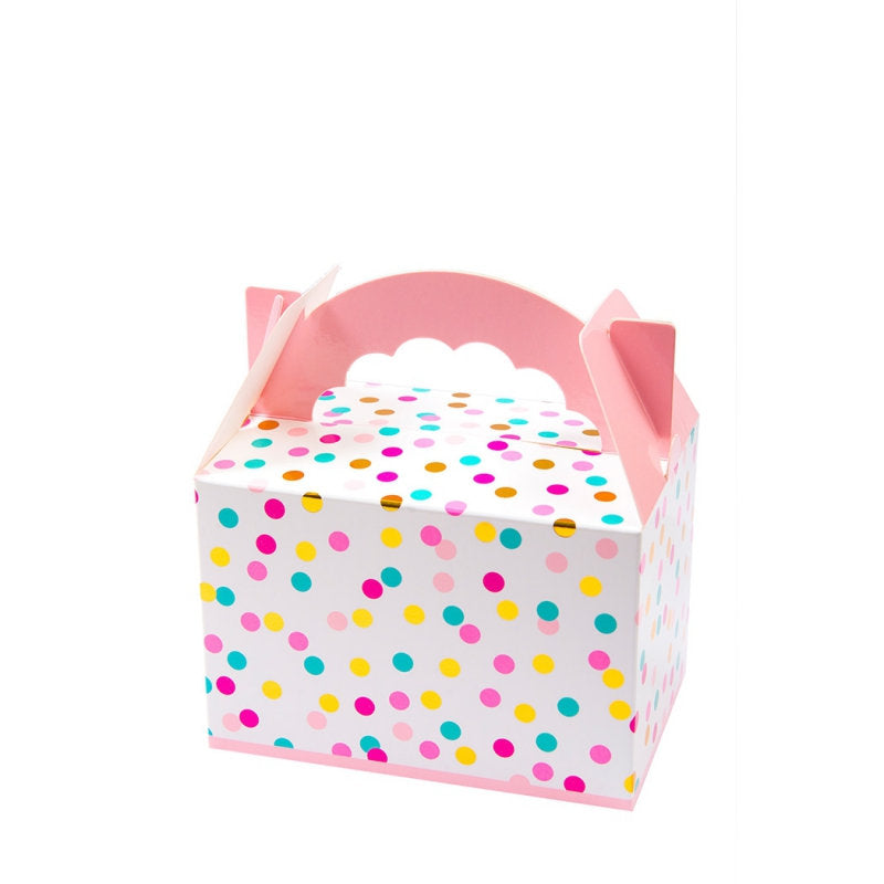 Pink and Gold treat boxes