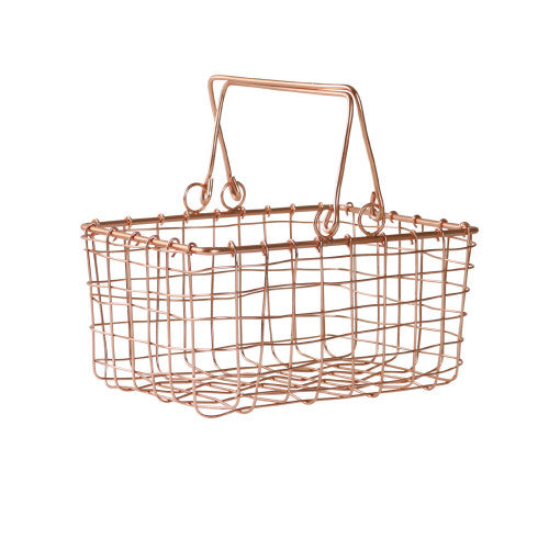 Copper Little Shopper Basket