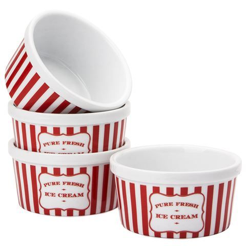 4 x Robert Gordon Ice cream Cups
