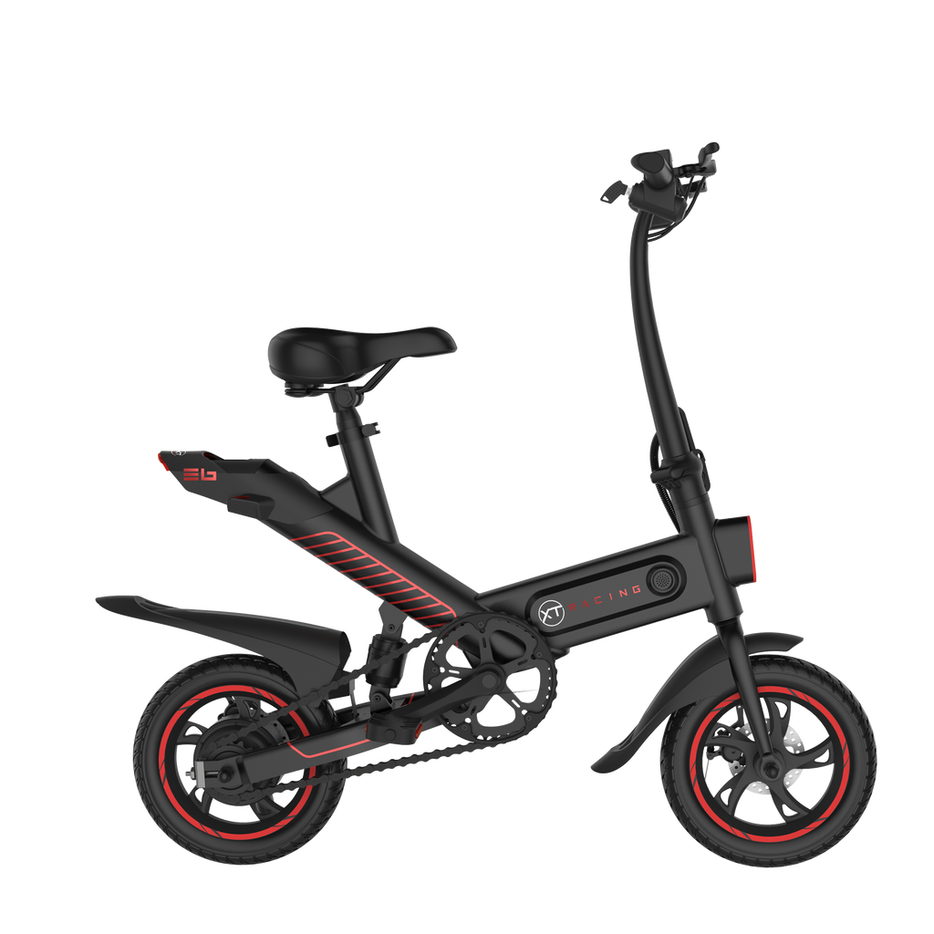 E6 Electric Bike - Black