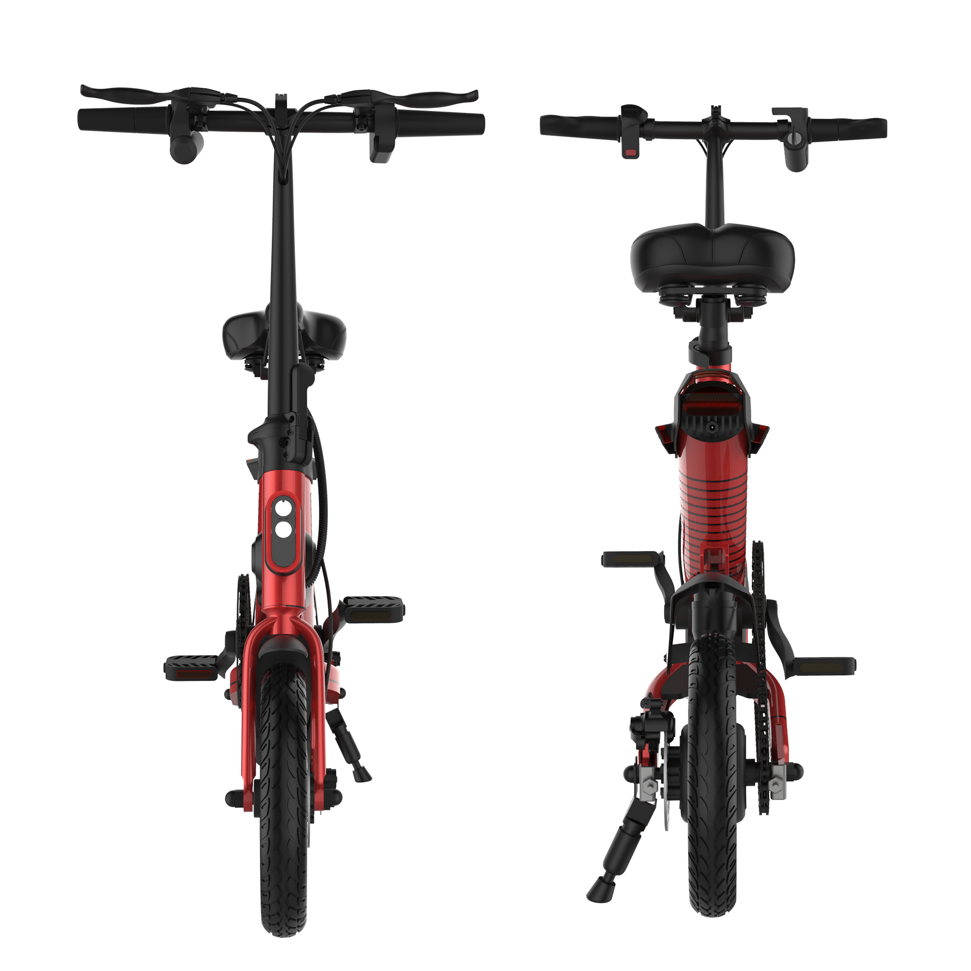 E6 Electric Bike - Red