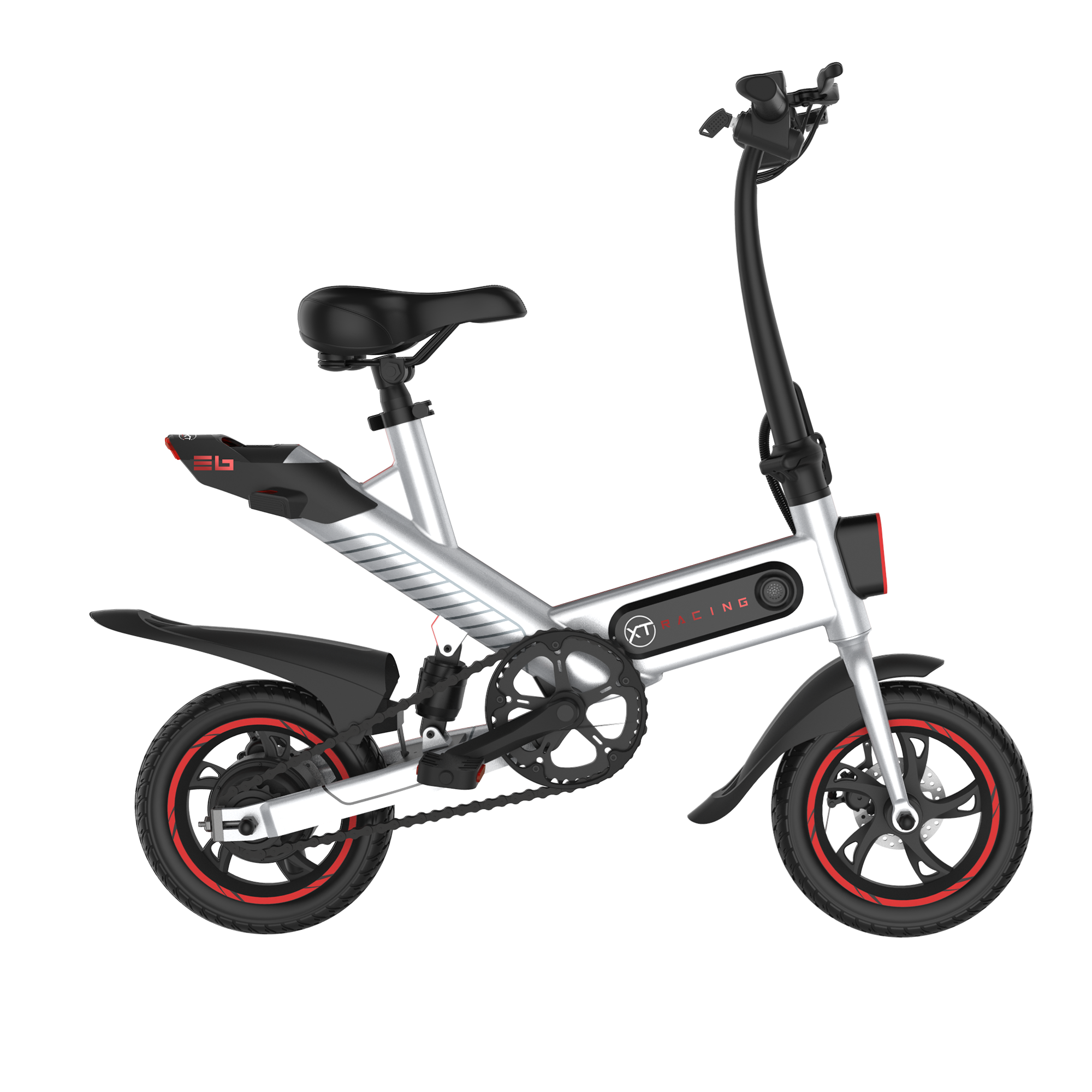 E6 Electric Bike - White