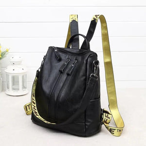Fashion Women Backpack High Quality Youth Leather Backpacks, School Shoulder Bag Bagpack mochila