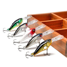 papi pêche 100005544 Fire tiger Crankbait 10g 55mm 1.8-3.9M Deep Runner