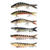 papi pêche 100005544 HARD Lot Hard/Soft Swimbait Réaliste 13Cm 19.5Gr