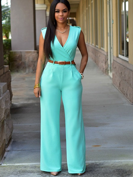 Size S Full Length Plain Zipper Mid Waist Skinny Petite Jumpsuit