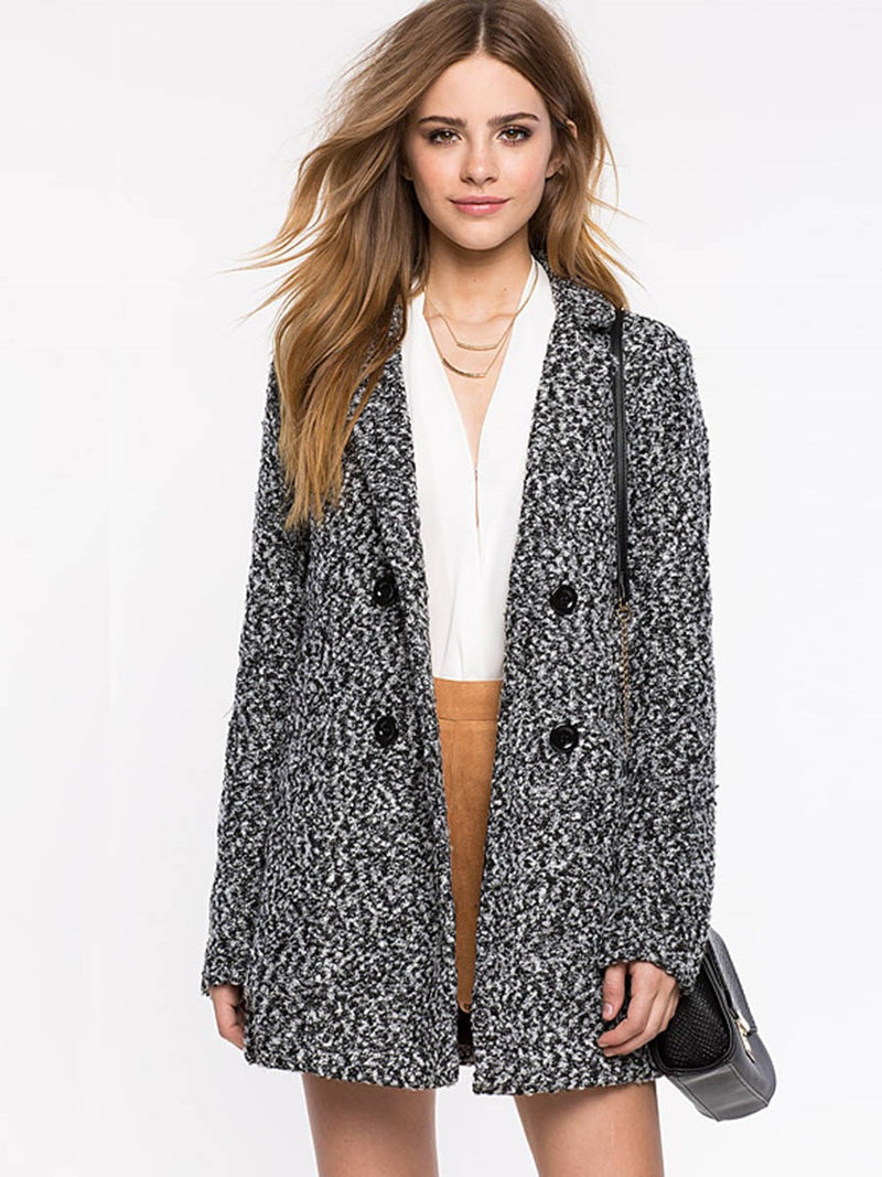 Loose Spring Mid-Length Overcoat