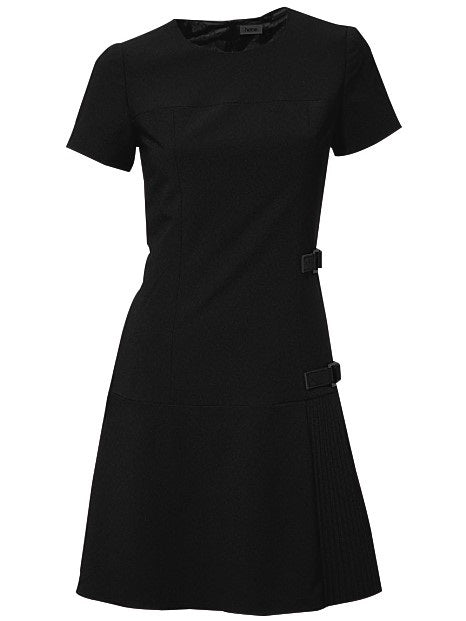 Above Knee Round Neck Short Sleeve Pullover A-Line Dress