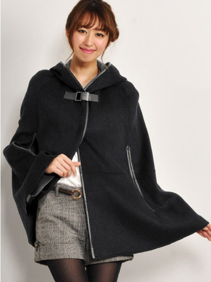 Plain Thick Winter Cape