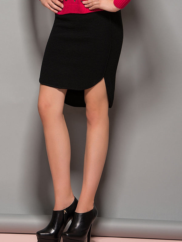 Size S Black Mini Skirt Pencil Skirt