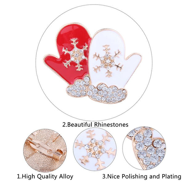 Rhinestone European Alloy Brooch Pins Brooches