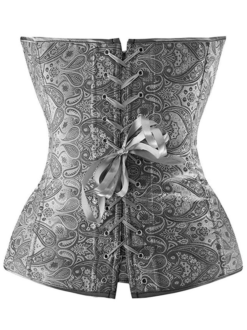 Size XL Plain Lace-Up Belts Polyester Corsets