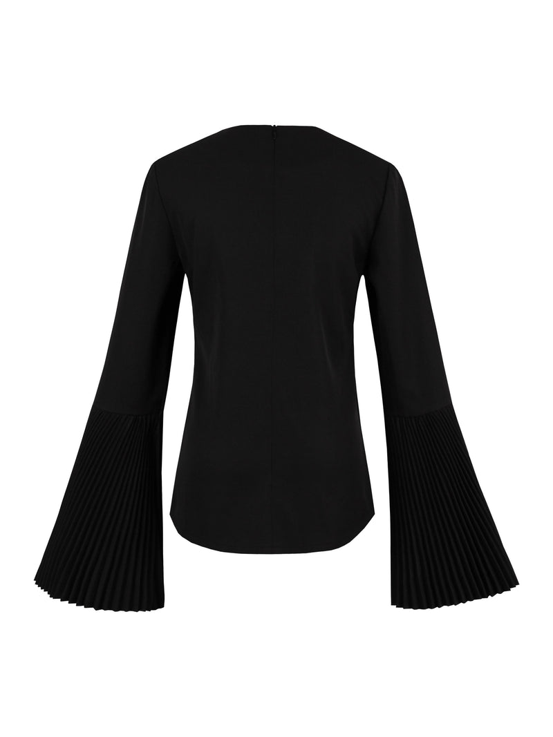 Size M Round Neck Long Sleeve Standard Straight T-Shirt