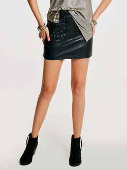 Size L Plain Mini Skirt Bodycon Skirt