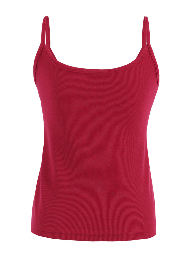 Cotton Backless Spaghetti Straps Short Tank Top