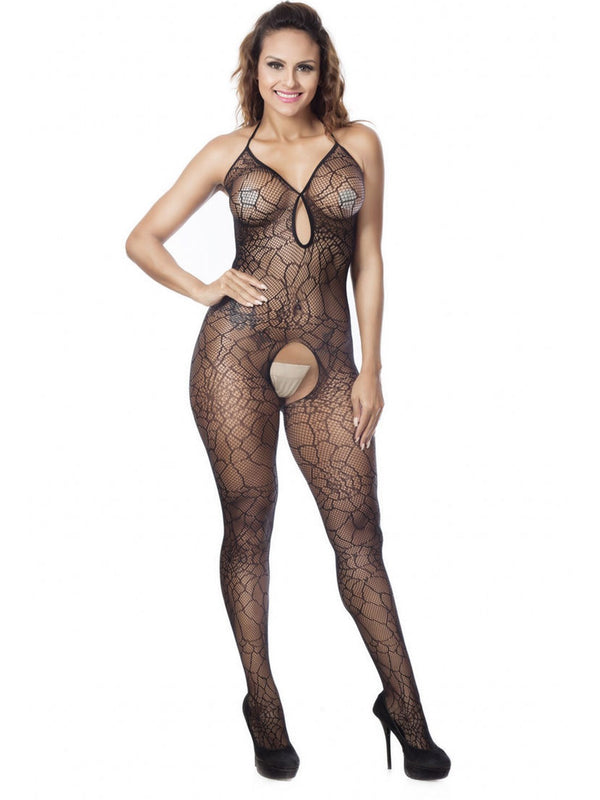 Lace Spandex Tight Wrap Teddies & Bodysuits