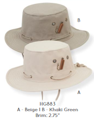 Hat, safari style - Cotton - Guy Harvey #HG883B