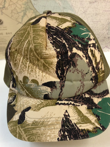 Camo Cap with Tab Back
