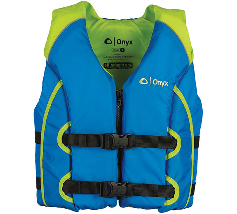 Life jacket - 'Onyx' by Kent - Youth - blue/lime