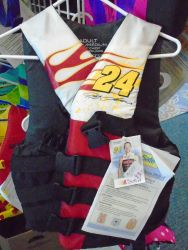 Life jacket - Jeff Gordon limited-edition NASCAR - Adult small