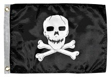 Flag - Jolly Roger - 12x18 - printed