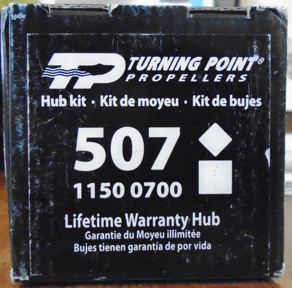 Turning Point 507 hub kit for Honda and Suzuki outboards