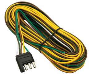 Trailer wiring - 25 ft, 4-way, harness - #WSB7261