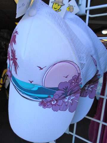 Ball cap - Women's - tropical print - SALE