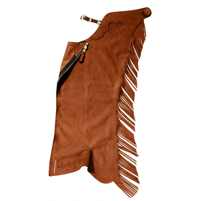 Ultrasuede Fringed Show Chaps - Discontinued Colors