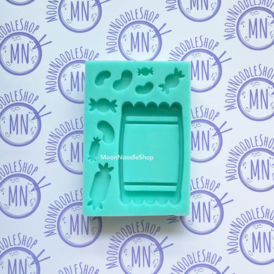 Candy Packet Single Silicone Mold for Resin